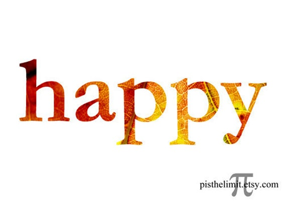 happy word: