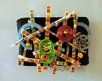 Recycled Wall Art--small