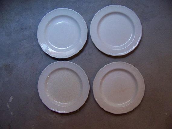 Ironstone Heirloom Meakin England  Royal Staffordshire Plates