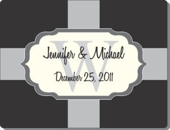 """100  2.625"""" x 2""""   Wedding Favor / Welcome Bag Labels - Compare and Save - You can also use your own art at no extra charge"""