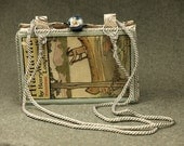 Vintage Book  Cell Phone Purse, The Song of Hiawatha, circa 1898