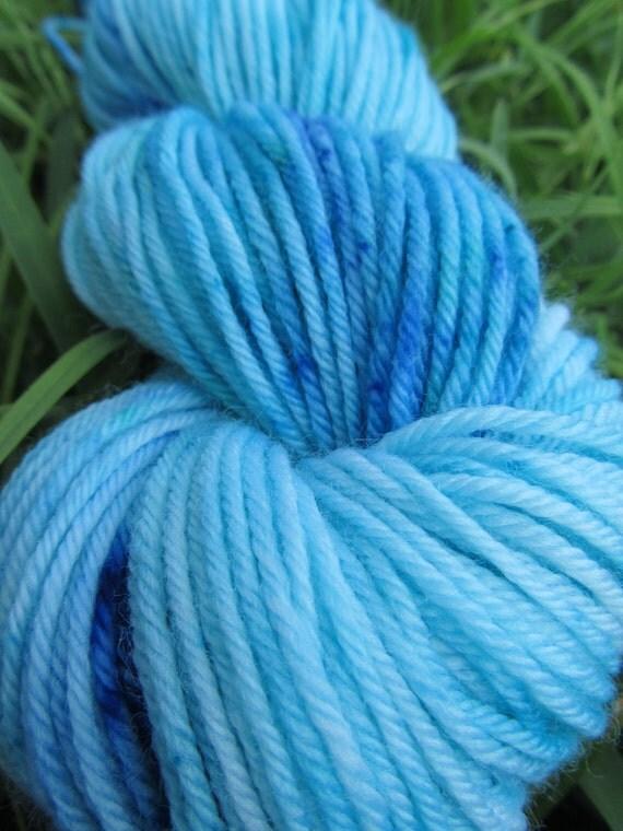 Baby Yarn - 4 ply - Neap Tide - Oceanic Blues - Hand Dyed - Pure Austalian Merino -