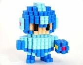 Megaman (Rockman)   Perler beads figure