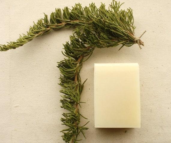Rosemary and Cedarwood Shampoo & Shaving Bar // Shampoo, Shaving Soap, Gift for Men, Woodland, Spring, Handmade Soap, Vegan Soap, Green