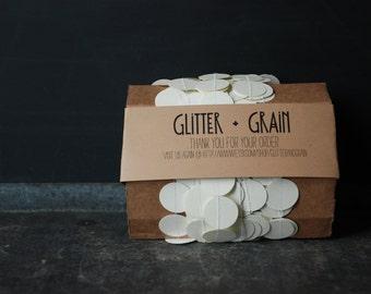 25' Paper & Thread Garland: Cream