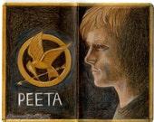 Hunger Games Peeta Journal