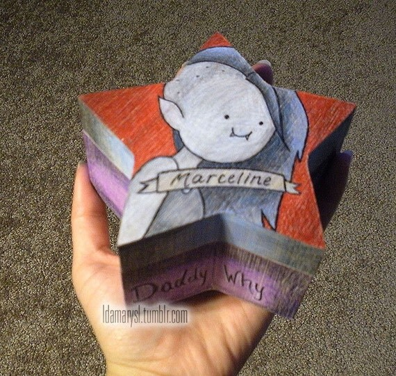 Adventure Time Marceline Jewelry Box (Made to Order)