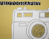 Photography Camera Cutout
