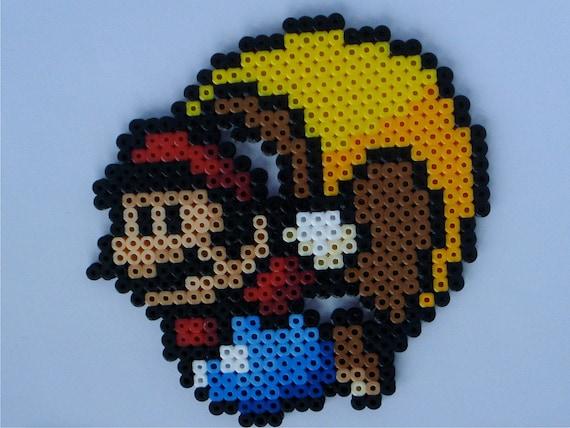 Cape Mario - Super Mario World Perler Bead Sprite