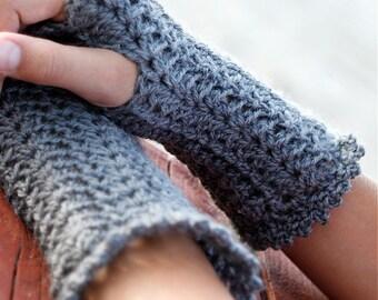 Lacey Crochet Wristwarmers - PDF PATTERN
