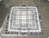 RESERVED FOR sandford3040 Graphic Plaid Scarf by Echo