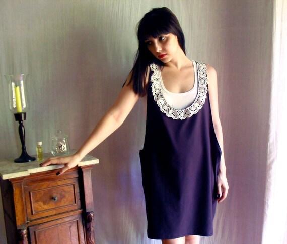 Black tank-dress tshirt  -  jumper dress black tshirt dress