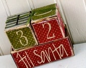 Mini Christmas Countdown - doubledutydecor