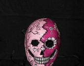 Handmade Day of the Dead (Dia de los Muertos) Mask