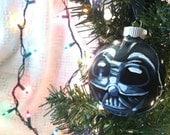 Darth Vader Glass Ornament