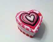 Mini Valentine Heart Box