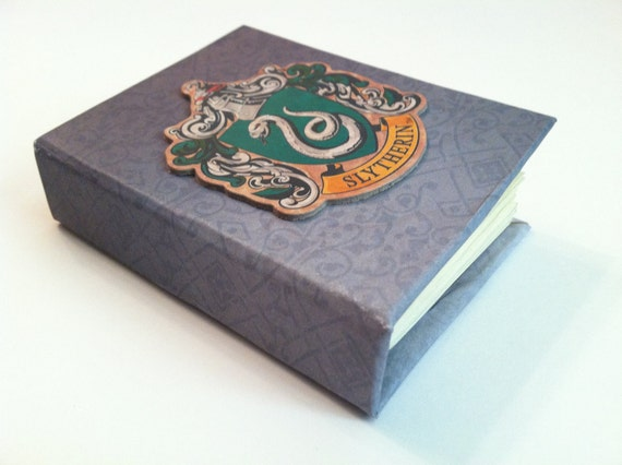 Mini Slytherin journal