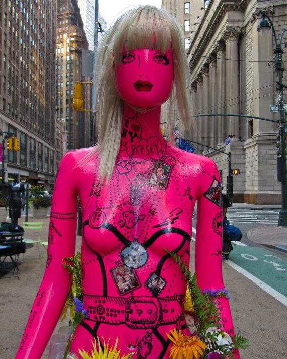 "New York Photography, ""Betsey Johnson"", NYC Fashion Week, Sidewalk Catwalk, Fashion Photography, Customizable Sizes Upon Request"
