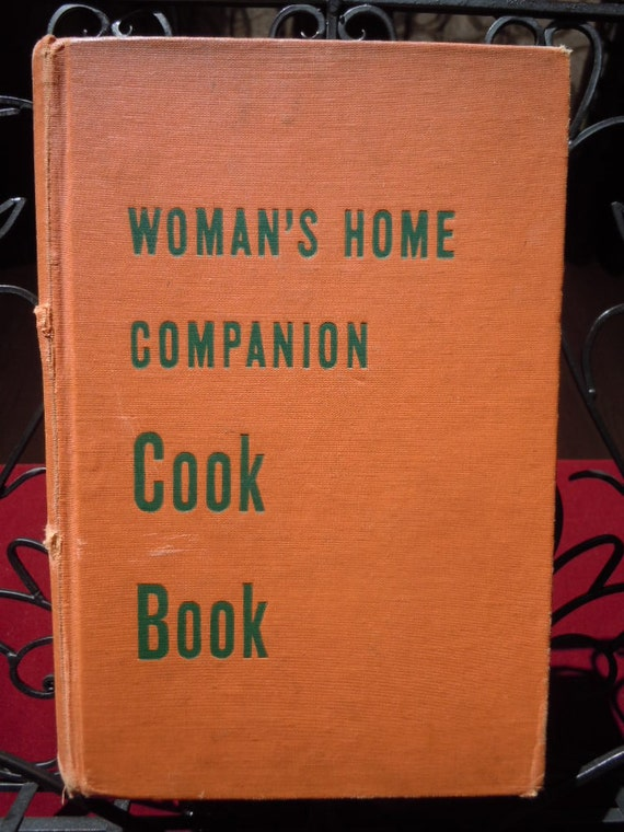 "Vintage 1946 Cook Book "" Woman's Home Companion Cook Book""  Hard Bound Heavy and Thick 951 pages ""Shabby Chic"""