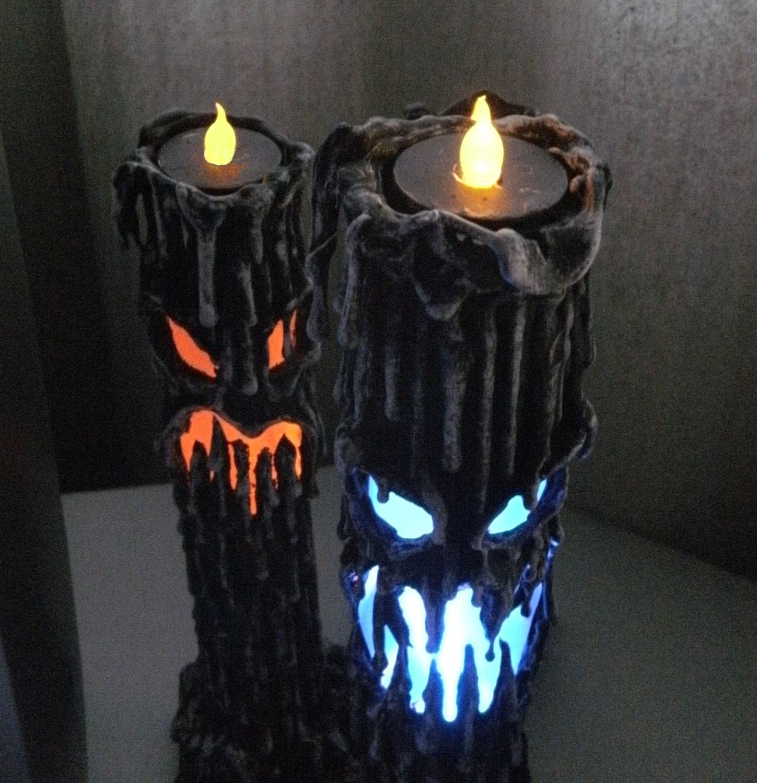 Halloween Candle Prop