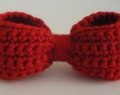 Crochet Bow Pin - new price