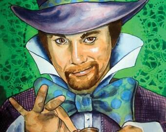 Custom 8x10 Watercolor Portraits