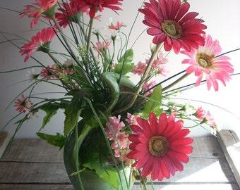 Floral Arrangement in vintage vase