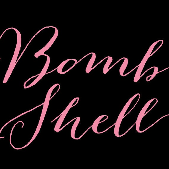 Bombshell Pro Font - NEWEST Release