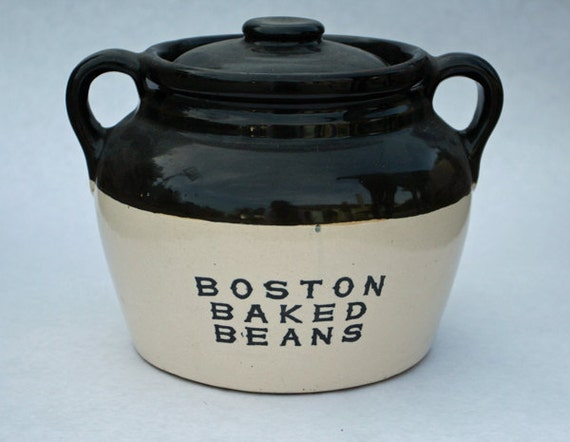 Vintage Boston Baked Beans 1 Gallon Bean Pot
