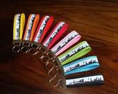 keychain / lanyard / key tag / Schlüsselband / Schlüsselanhänger HAMBURG skyline - different colours