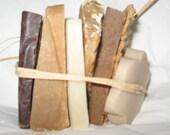Sampler set of hand made soap