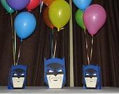 Super Hero Batman Party Centerpiece