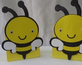 Bumble Bee Party Treat Bags 10 count