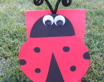 Ladybug Party Goody Bags 10 count