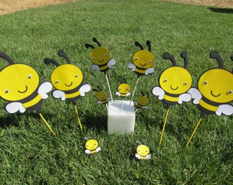 Bumble Bee Party Package Centerpiece Kit 30 pieces total