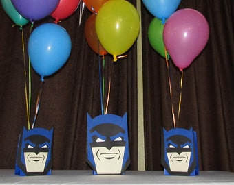 Super Hero Batman Party Centerpiece