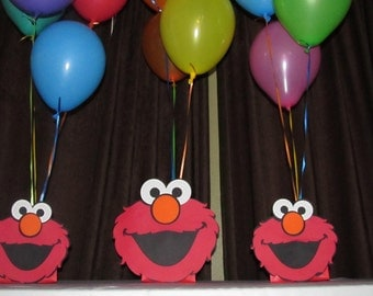 Elmo Party Centerpiece