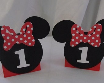 Minnie Mouse Birthday Party Treat Bags 10 count