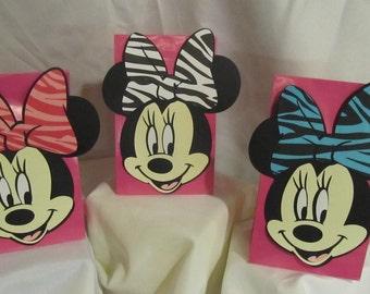 Minnie Mouse Party Ballon Centerpieces