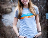 One MORE child with a forever family, One LESS orphan in the world SM Tee for Adoption Women