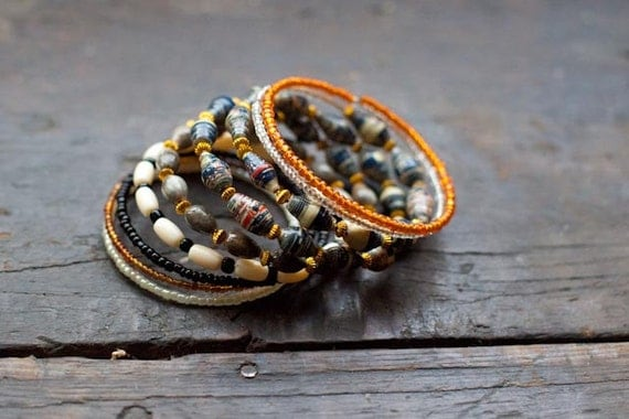 Silali Volcano Wrap Bracelet - Shop with Purpose