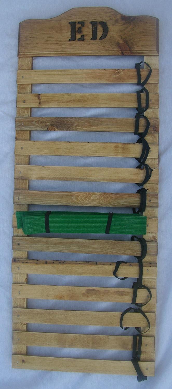 Personalized Karate Belt Display Rack