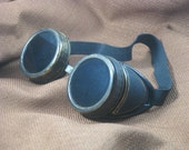 Steampunk Goggles -  Brass Finish