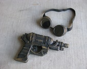 Steampunk Gun and Goggles Combo 2