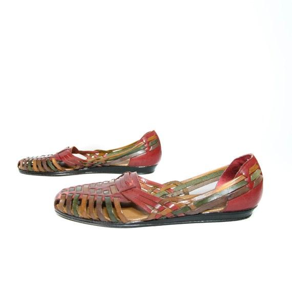 Perfect ECCO Womens Flash Huarache Sandal Sandals In Brick Ice Point