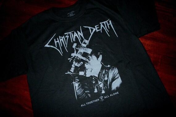 Christian Death shirt - MEDIUM