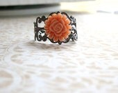 Vintage Style Flower Ring