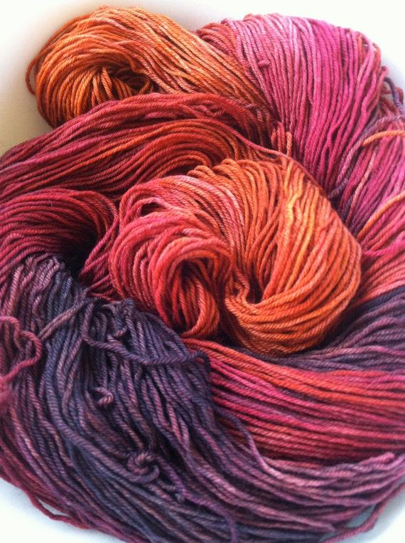 Scarecrow (Halloween Line) - Fingering Weight Yarn (Superwash Merino Wool & Nylon)