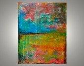 "Abstract art landscape 24""x30"" Acrylic"