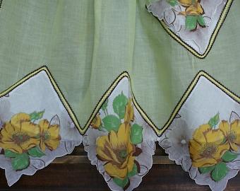Light Green Handkerchief Apron